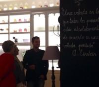 #cenando con Isabel Llinás: resumen de la velada