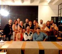 #cenandocon Roig de Diego: foto de familia